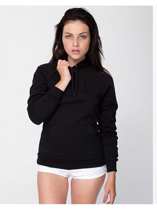 American Apparel Black Unisex  Pullover hoodies