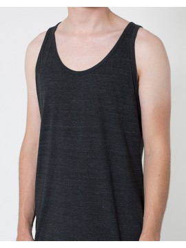 Black Tri-blend American Apparel Tank Top