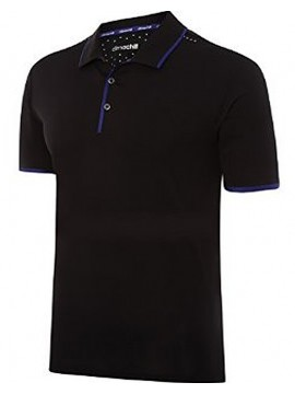 Adidas Black Climachill Solid Polo Shirt