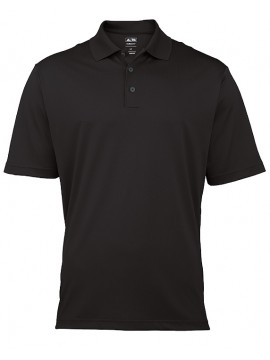 Black Adidas ClimaLite Pique Polo Shirt