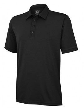 Adidas ClimaLite Black Stretch Polo Shirts