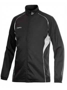 Craft Black Track And Field Windproof Jacket