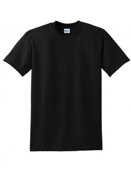 Black Crewneck Gildan Ultra Black T-shirts