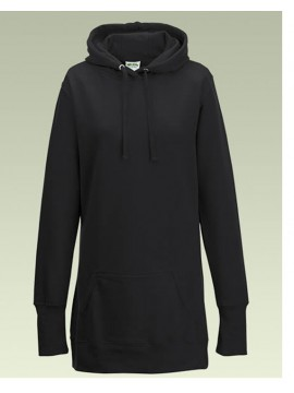 AWD Ladies Long line Pullover Hoodie Top