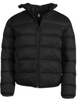 Kariban Zip Jackets in Black Ultra Light Padded