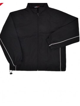 Finden Hales Kids black Waterproof training Track Jacket