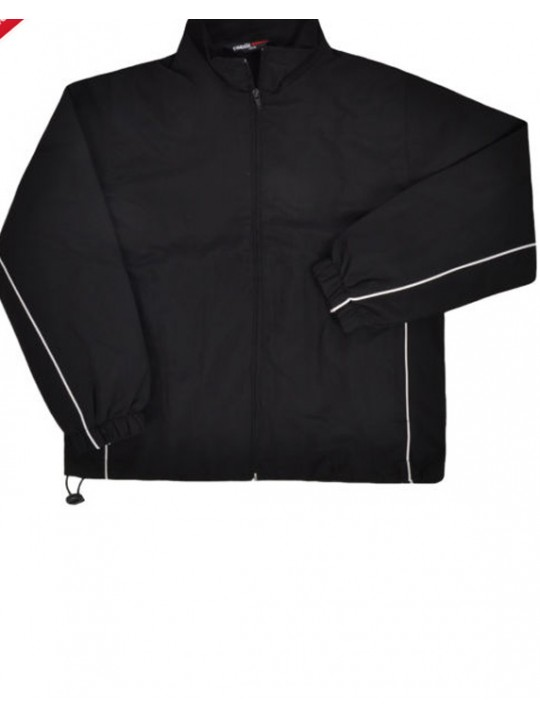 Finden Hales Kids black Waterproof training Track Jacket