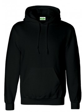 AWD Black Pullover Hooded Top