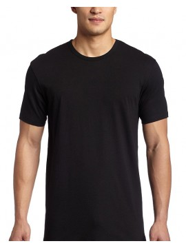 Black SnS 100% Rich cotton 160 GSM T Shirt
